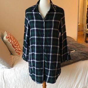 BB Dakota plaid tunic